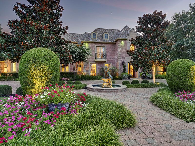 Mansions And Estates Beautiful Homes Southlake Garden Design