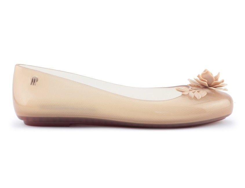 Baleriny Melissa Beige Shoes Melissa