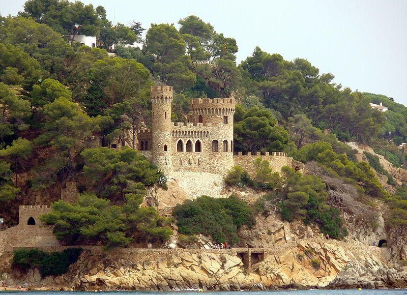 Saint Joan's Castle, Catalonia, Spain
