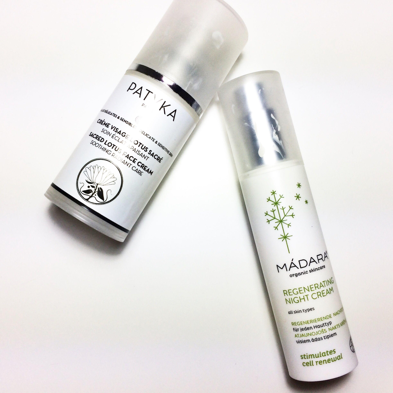 Una para el día y una para la noche. Una de @patyka_cosmetics y la otra de @madaracosmetics. Estas son las 2 cremas que ahora mismo estamos usando para el día a día en mumona (por eso están así. Y es que les damos un tute...🙈). Una para el día y una para la noche (entre más cositas que os iremos mostrando muy pronto😁)👉🏻 mumona.com  #cosmetica #rostro #natural #organica #bio #eco #organic #cosmetics #madara #patika #beautylover #beauty #belleza #soymumona