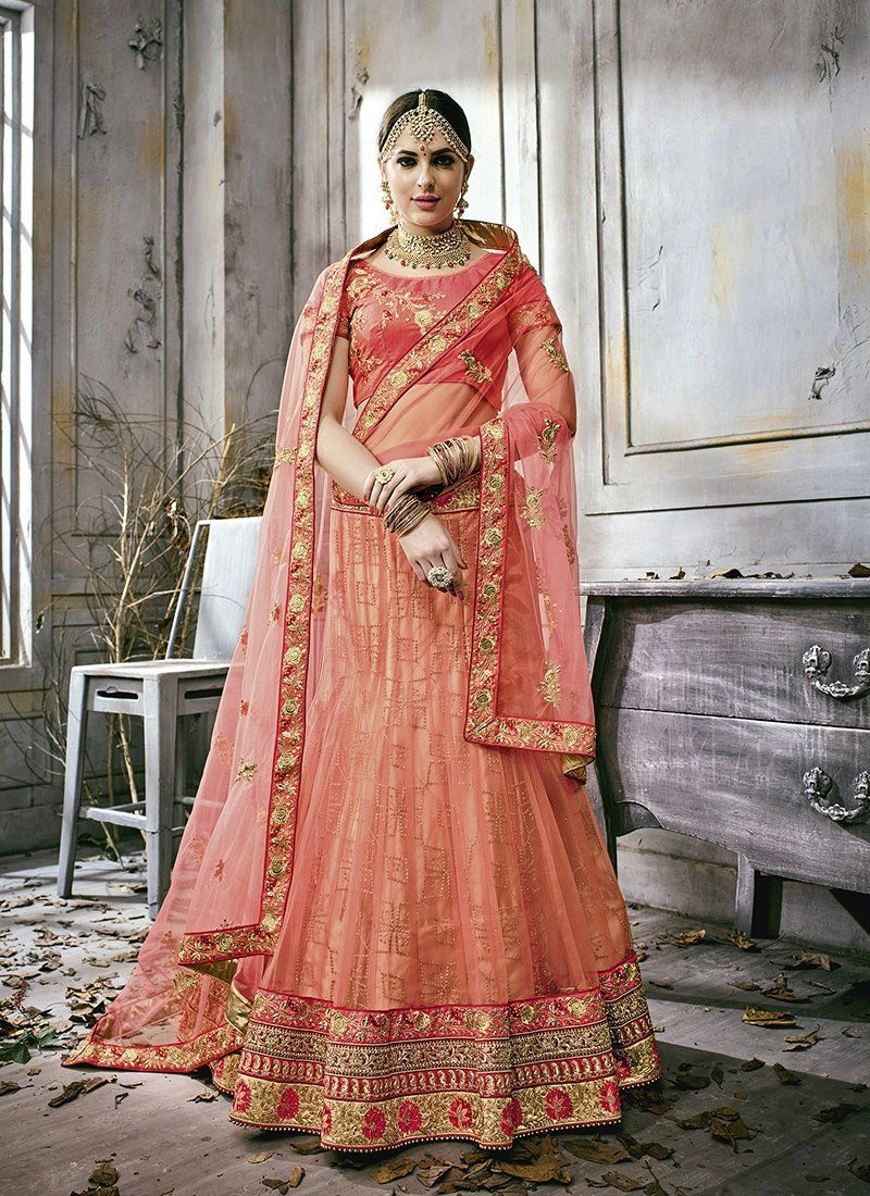 7bd644c392527 Mouve Pink Contemporary lehenga set