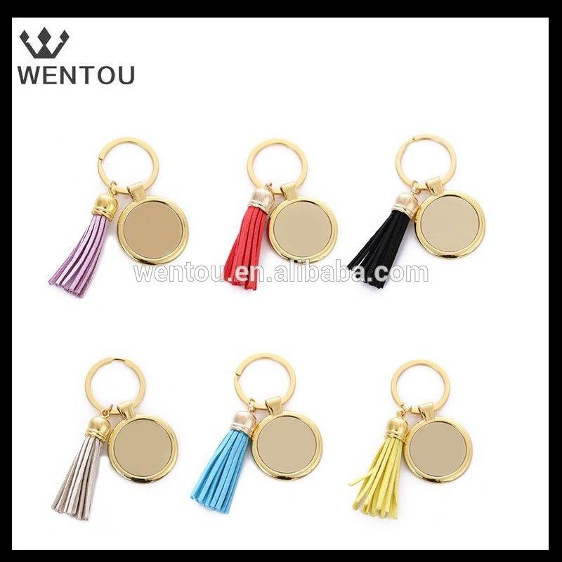 Wholesale Monogram Tassel Key Chain