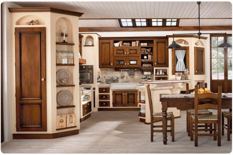 Cucina Rustica Con Isola Con Espomobili Showroom Lavoriamo ...