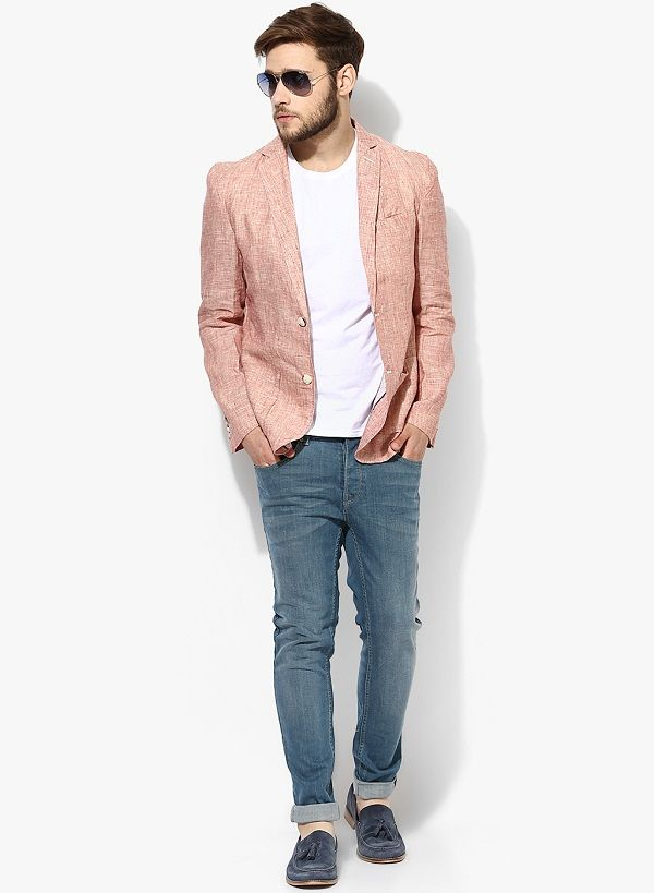 linen blazer mens how to wear