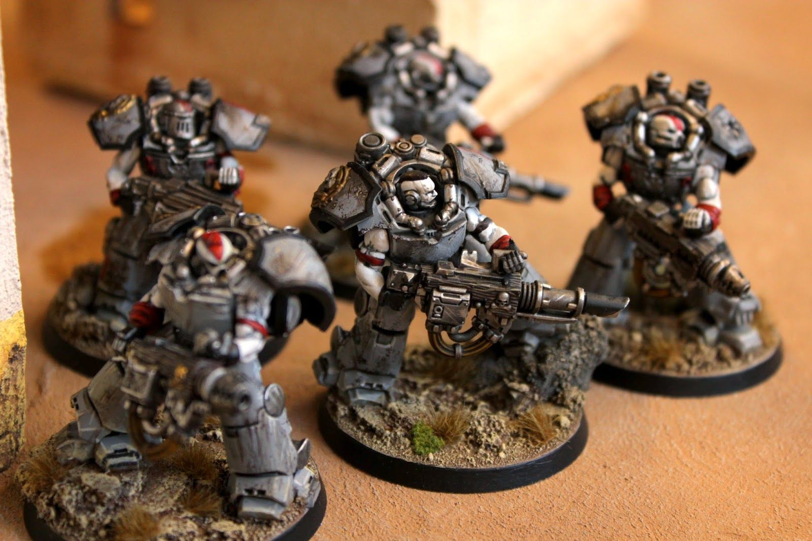 Hobby adventures with miniature soldiers, model scenery and