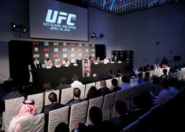 UFC Abu Dhabi Press Conference