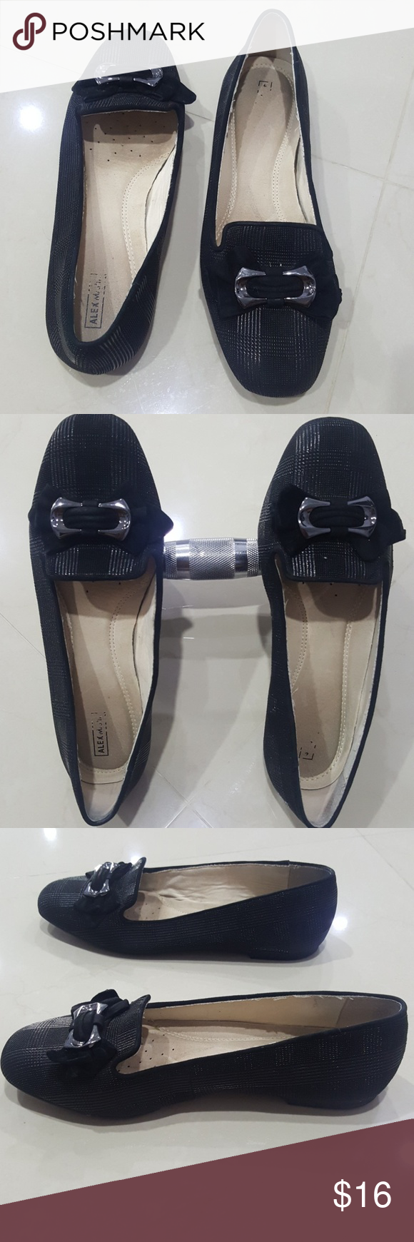 59dc4a80b3b Alex Marie flats Very good condition of this black flats Alex Marie. Size  8. True to size. Alex Marie Shoes Flats   Loafers