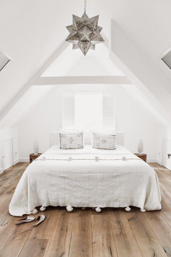 Las claves para decorar un dormitorio blanco y que transmita ...