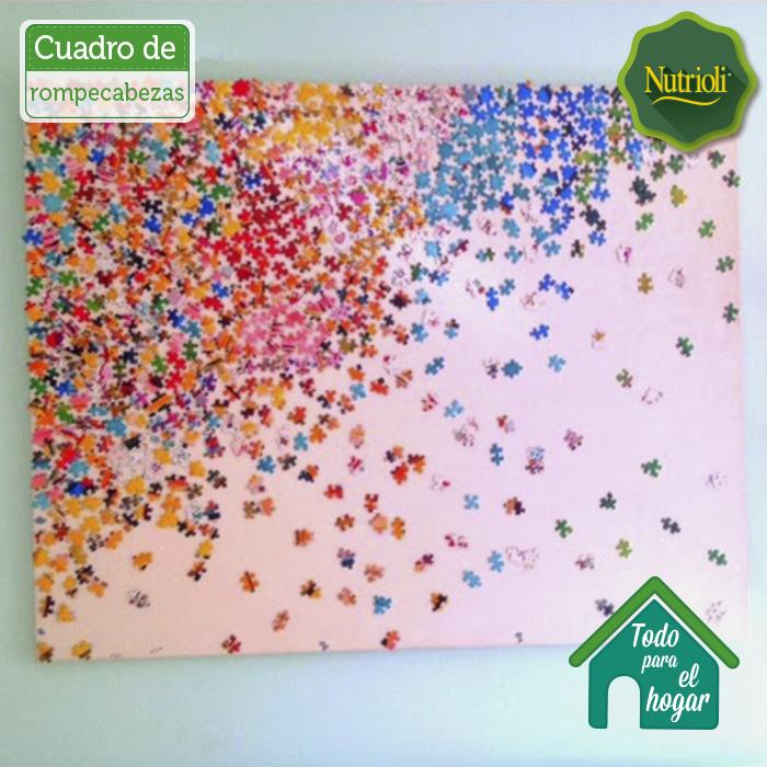 Crea un cuadro con piezas de rompecabezas iluminar tu for Crea tu habitacion online