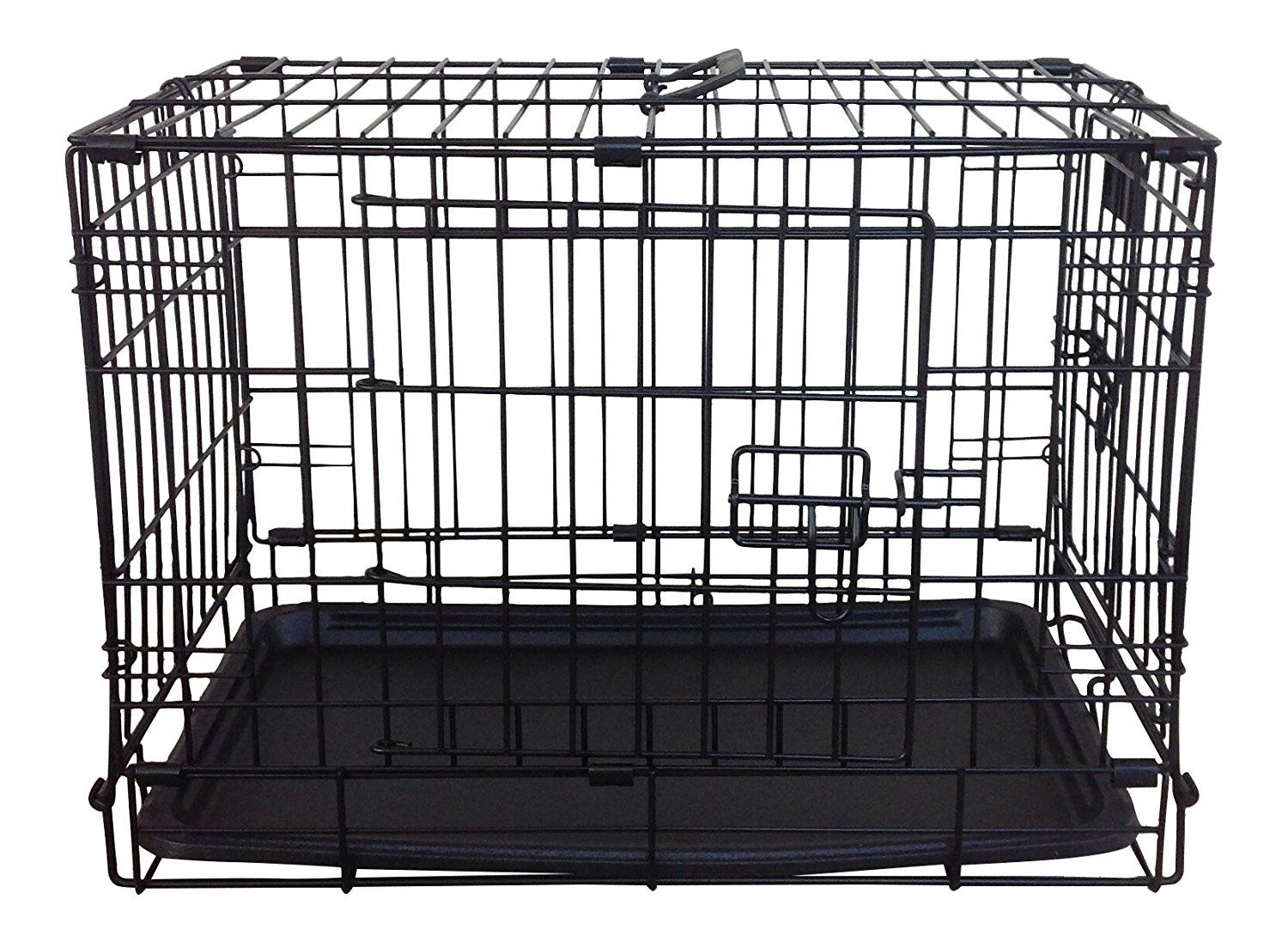 Simply Plus 22u0027 Folding Double Door Dog Crate/Cage Without Casters **  Discover