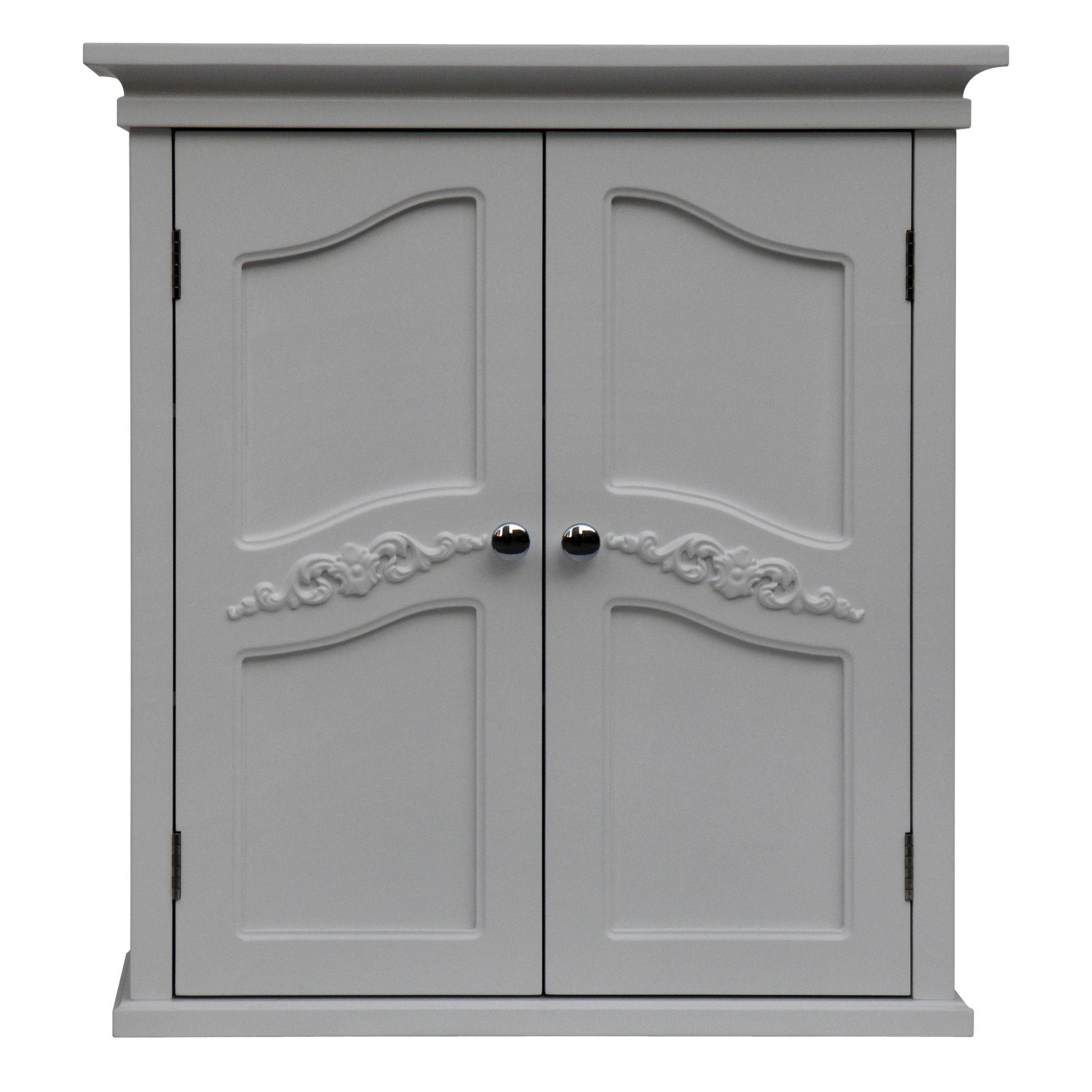 """Elegant Home Fashions Versailles 22"""" x 24"""" Wall Mounted Cabinet"""