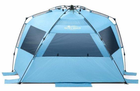 Pacific Breeze Easy Up Beach Tent Deluxe XL  sc 1 st  Pinterest & Pacific Breeze Easy Up Beach Tent Deluxe XL | Top 10 Best Beach ...