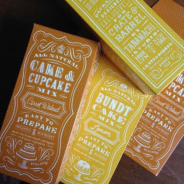 Mix packaging for crateandbarrel by Dana Tanamachi