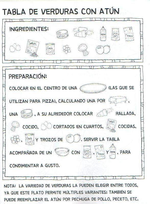 Menta m s chocolate recursos para educaci n infantil - Grado en cocina ...