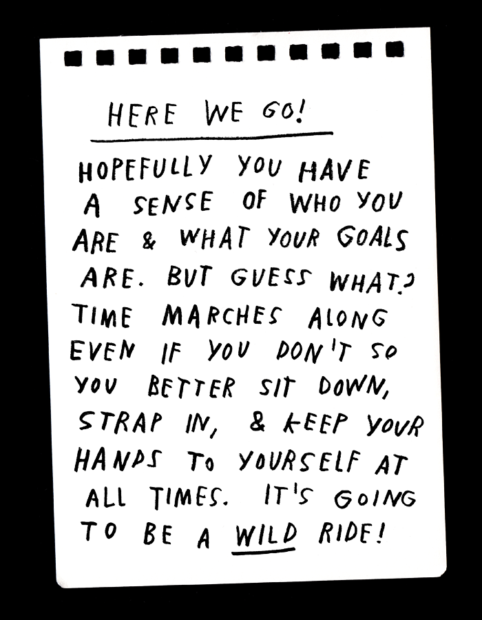 Preparing For The End (Of The Year) by Adam JK at Design*Sponge