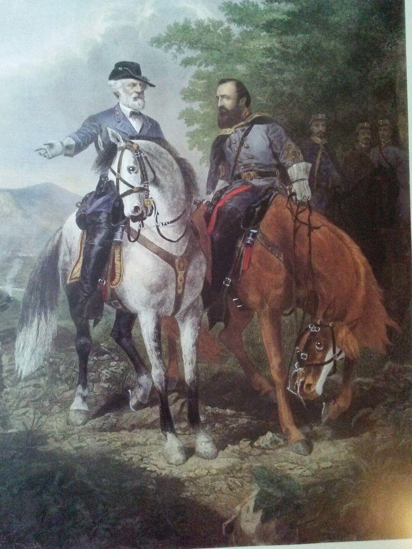 AMAZING! (The Last Meeting) Robert E Lee/