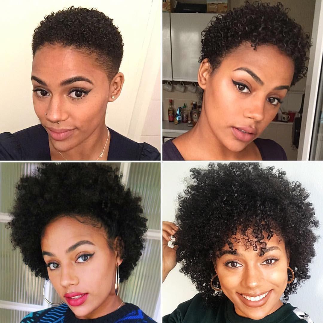 pin vee natural hair in 2019