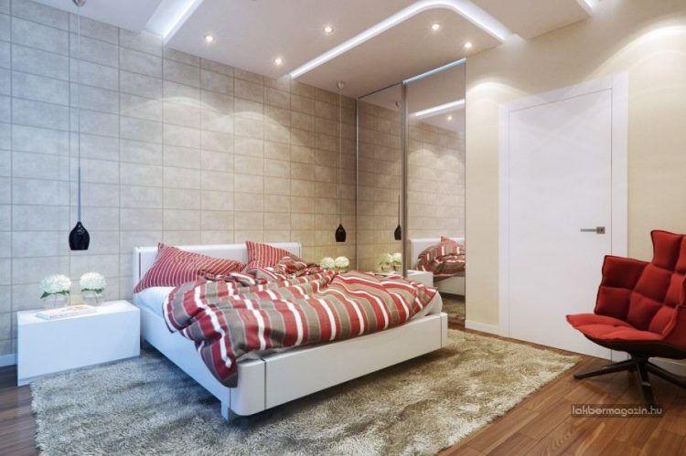 Modern hálószoba berendezés ötletek, dekoráció, lakberendezés ...
