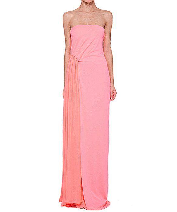 HALSTON HERITAGE Halston Evening Gown. #halstonheritage #cloth ...