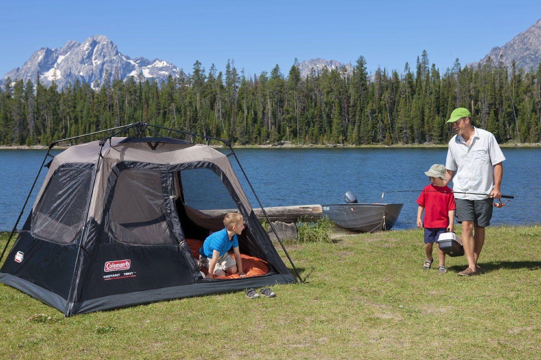 coleman instant 4 cabin tent