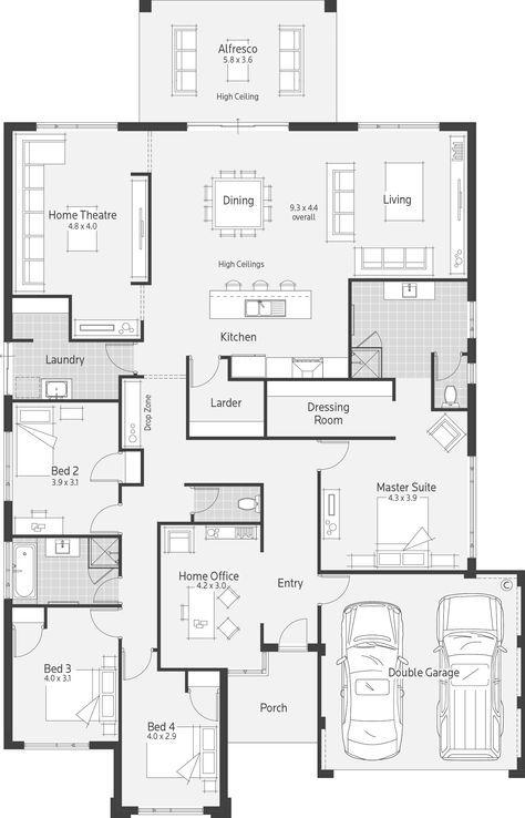 Casablanca Dale Alcock Homes In 2019 Floor Plans