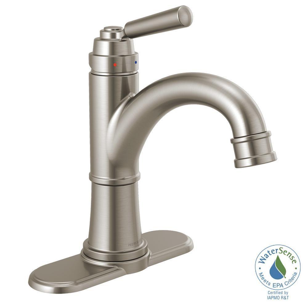 Peerless Westchester 4 In Centerset Single Handle Bathroom Faucet