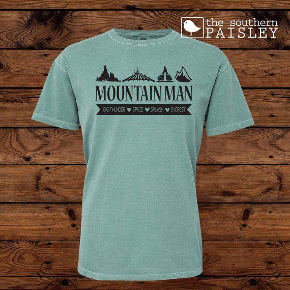 53934e13 Disney Mountain Man - Everest - Space Mountain #clothing #shirt  @EtsyMktgTool #t-shirt #teeshirt #tee #comfortcolors #disney #disneyhome