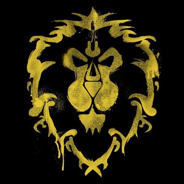 World Of Warcraft Alliance Spray T Shirt The Shirt List World Of Warcraft Gaming Tattoo World Of Warcraft Wallpaper