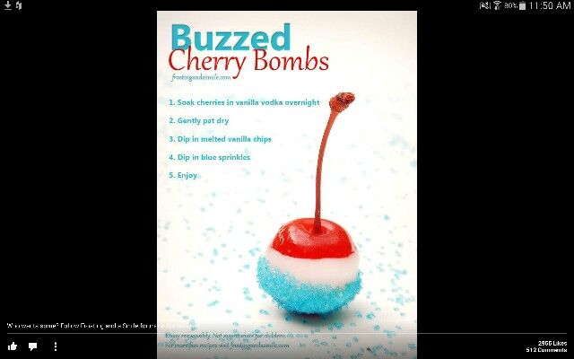 Cherry bombs
