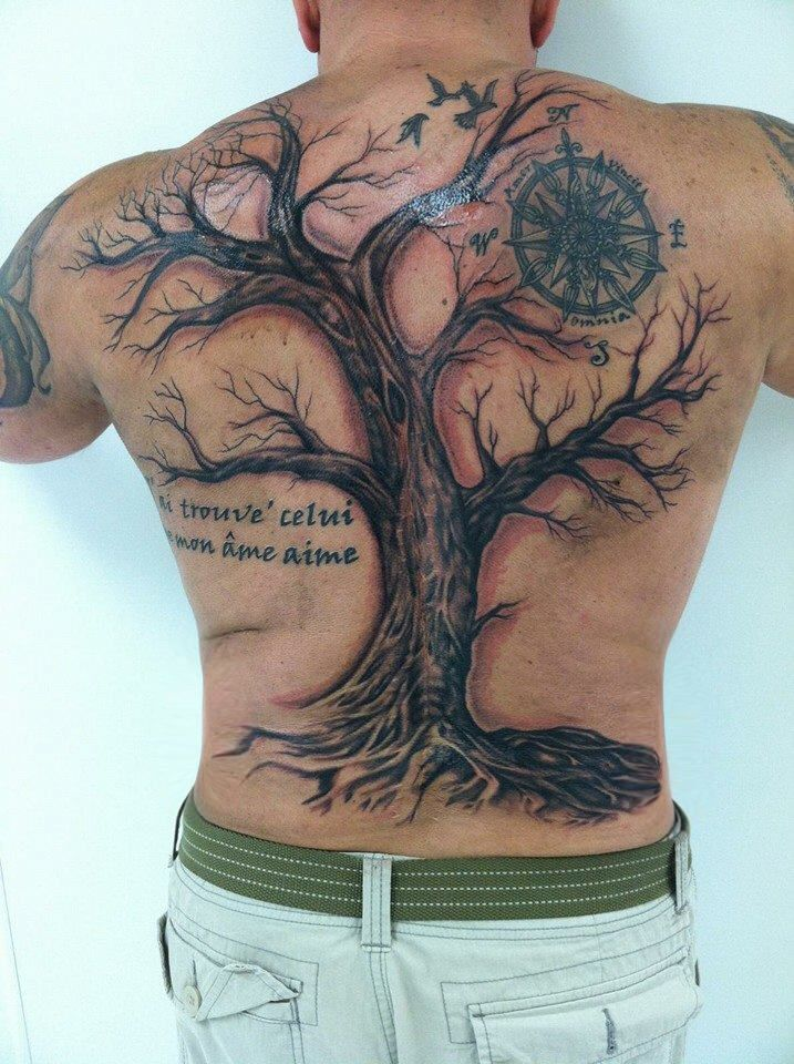 My back. My back. My back. RibTattoosformencross
