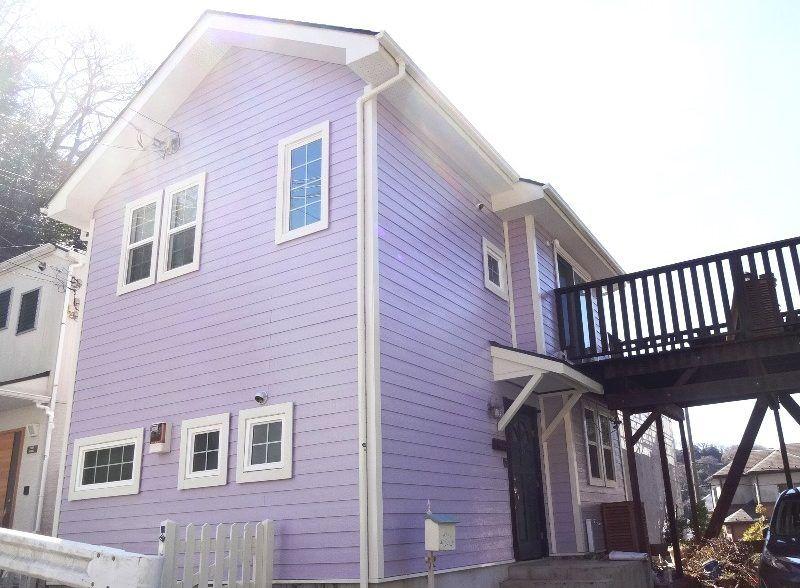 魅力あふれる紫の外壁事例14選 素敵に仕上がる配色と色選びのコツ