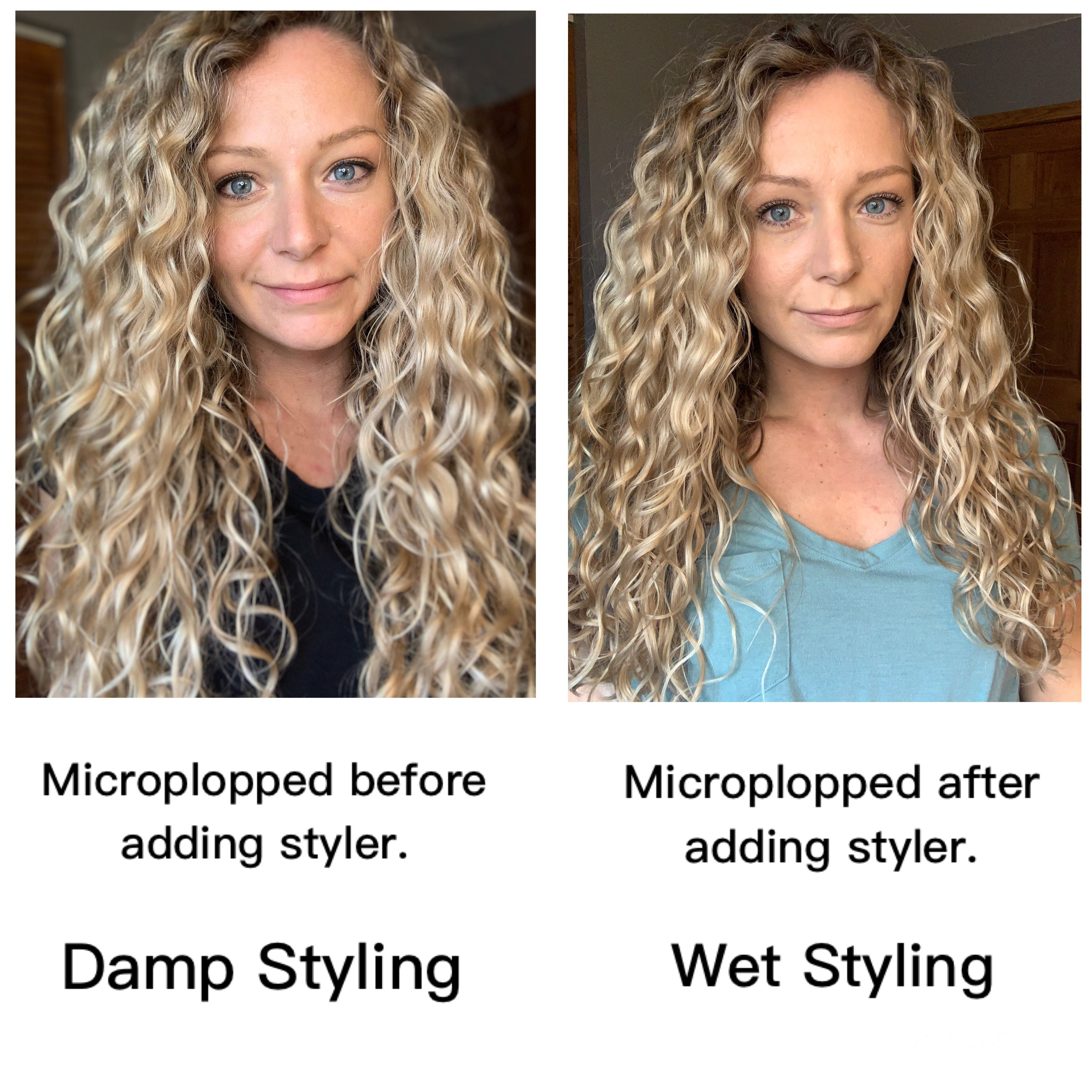 How To Style Wavy Hair For Mega Volume In 2020 Wet Style Hair Wavy Hair