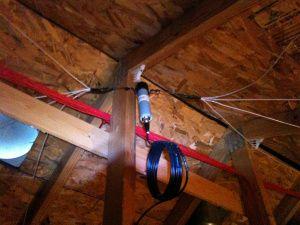 radio antenna ham Hf attic