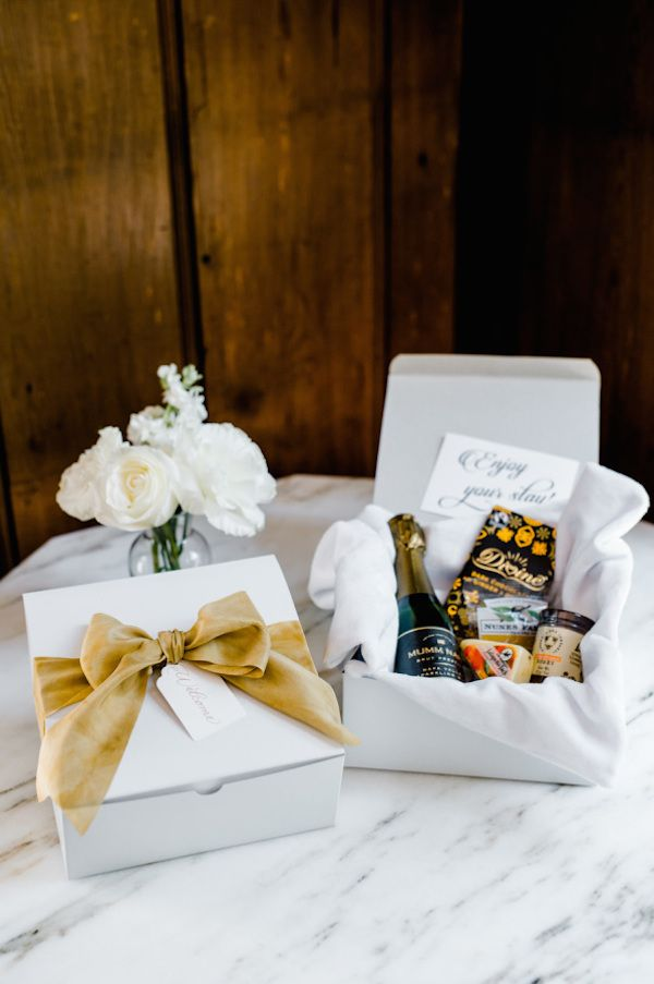 Ideas For Your Lake Tahoe Wedding Welcome Bag Or Box