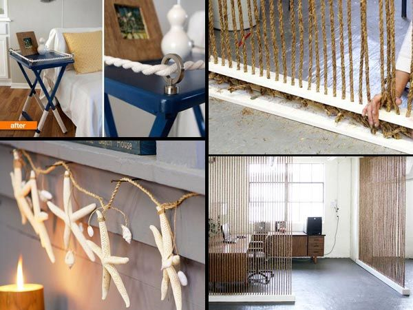 Astonishing 34 Fantastic Diy Home Decor Ideas With Rope Home Decor Ideas Largest Home Design Picture Inspirations Pitcheantrous
