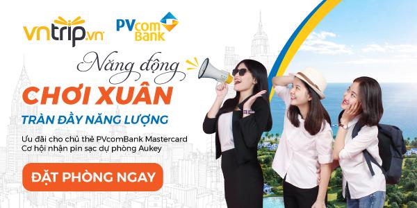 Giảm giá đến 20% tối đa 500.000VNĐ với thẻ PVcomBank Mastercard