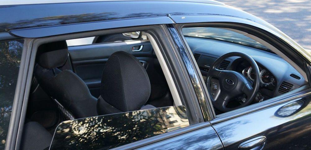 Subaru Outback Window Visors Sun Rain Guard Vent Wind Deflectors 2004 2009 Subaru Outback Subaru Outback