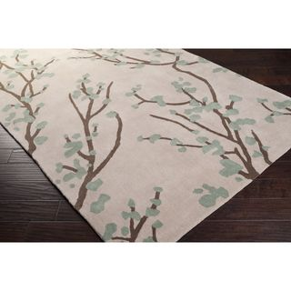 @Overstock - angelo:HOME Hand-tufted Green Hudson Park Polyester Rug (8' x 10') - Hand-tufted in polyester, this rug features colors of dried oragano, parchment, raw umber. Its unique design makes this rug perfect for any home. Designed by Angelo Surmelis.  http://www.overstock.com/Home-Garden/angelo-HOME-Hand-tufted-Green-Hudson-Park-Polyester-Rug-8-x-10/6713503/product.html?CID=214117 $739.80