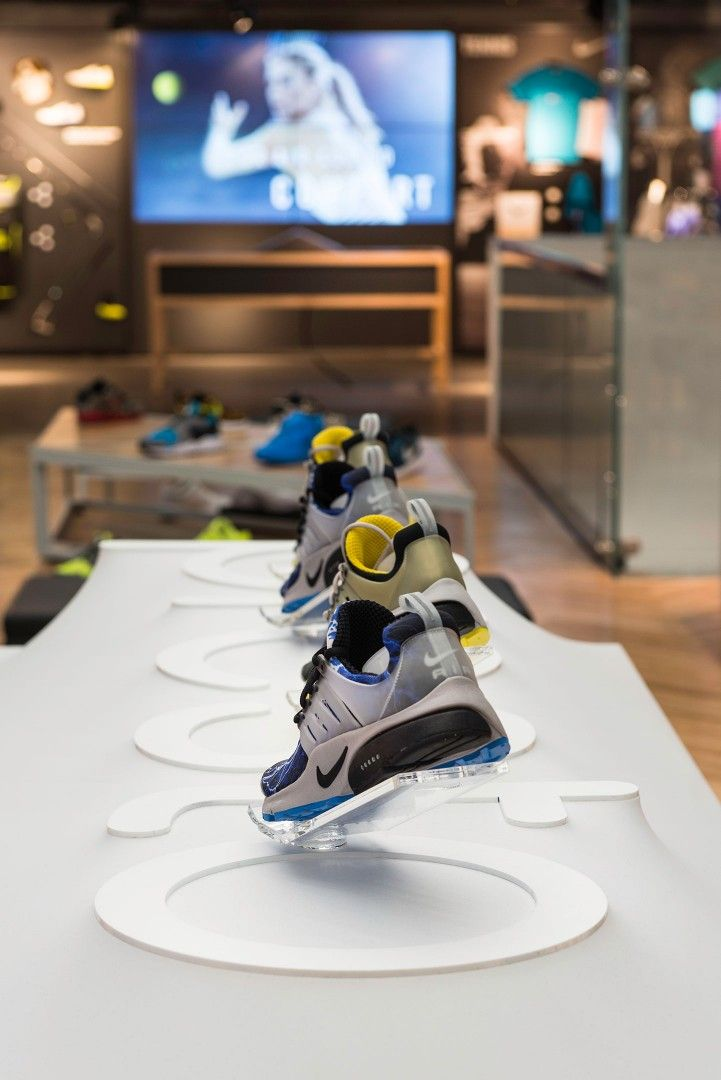 Nike Presto Millington Associates Shoe Display Nike Presto