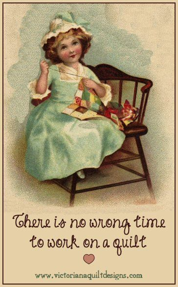 Quiting Inspirational Memes from Victoriana Quilt Designs