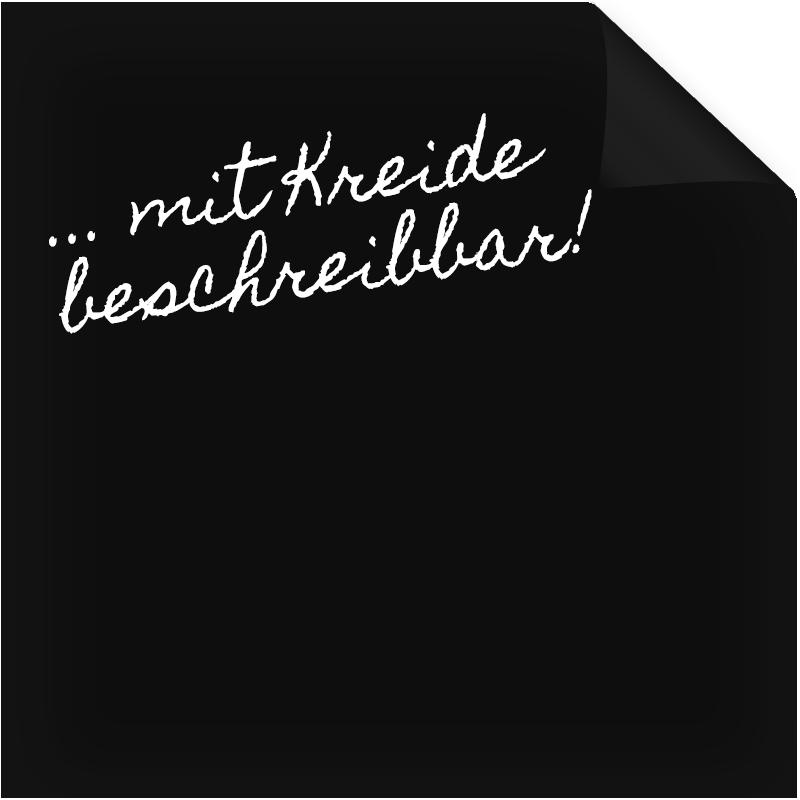 Unterschiedlich Klebefolie Tafelfolie Schwarz (matt) | Dekofolie | Pinterest KH64