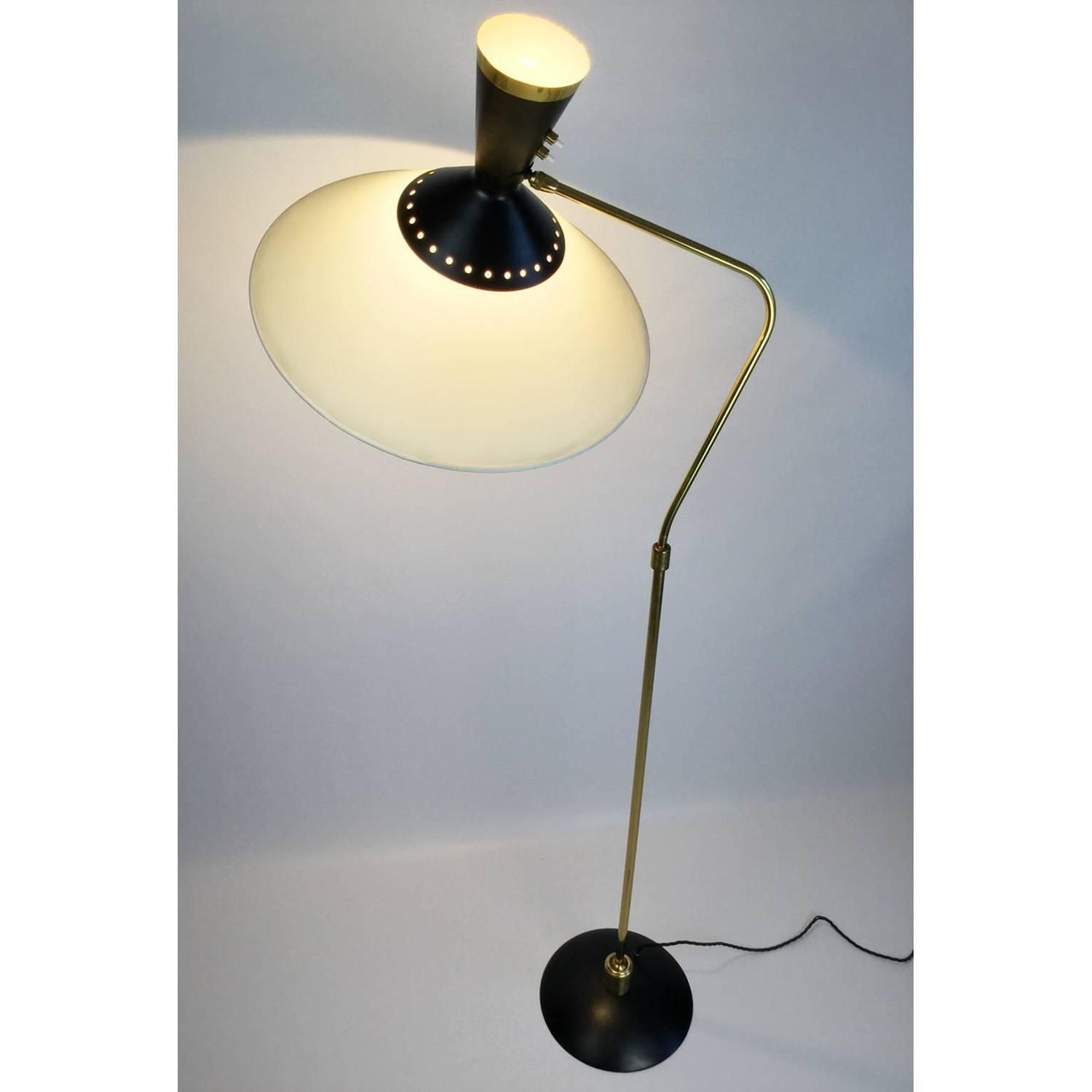 1950s Arlus Standing Lamp From A Unique Collection Of Antique And Modern Floor Lamps At Https Www 1stdibs Com Furniture Lamp Vintage Floor Lamp Floor Lamp