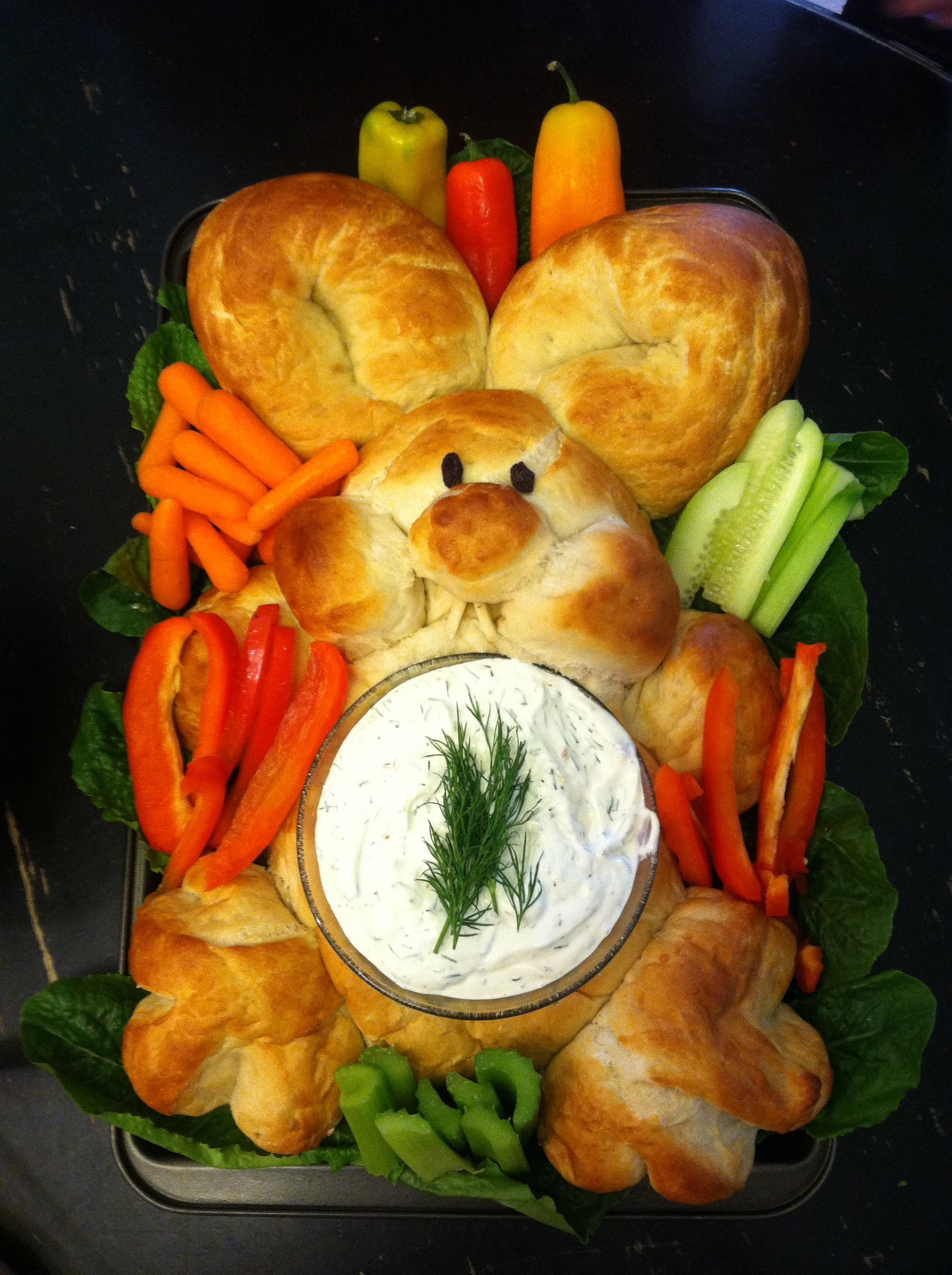 Happy Easter appetizer! Easy to make. Healthy to eat.