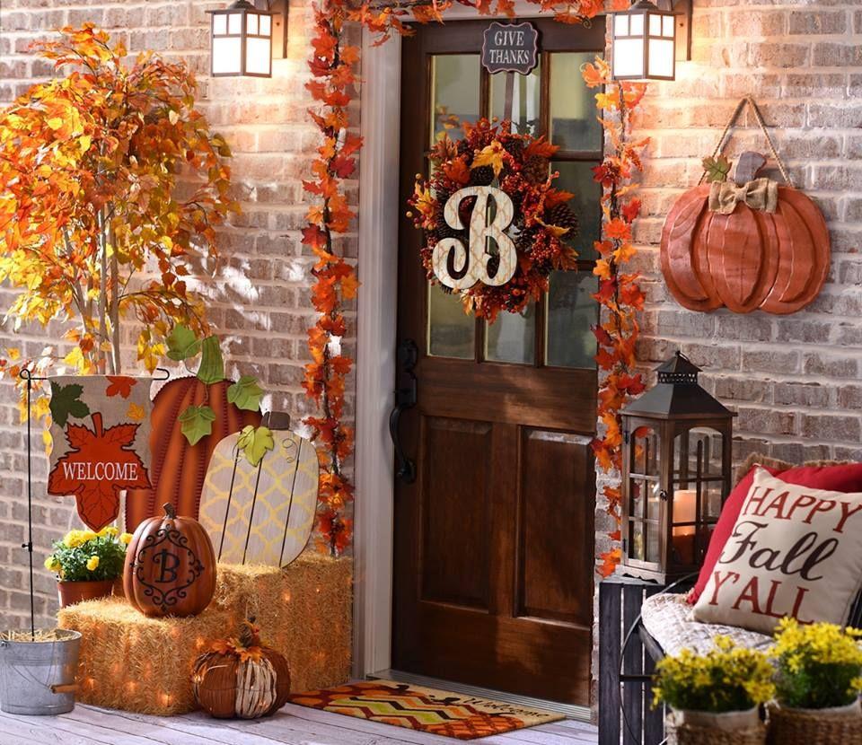 Kirkland's Fall Porch Design