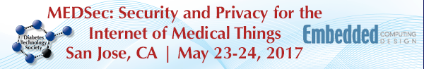 Call for abstracts: MEDSec 2017: Security and Privacy for the Internet of Medical Things #iot #medical http://ift.tt/2fmdX9k