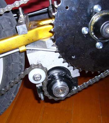 Frewheel bottom bracket drive