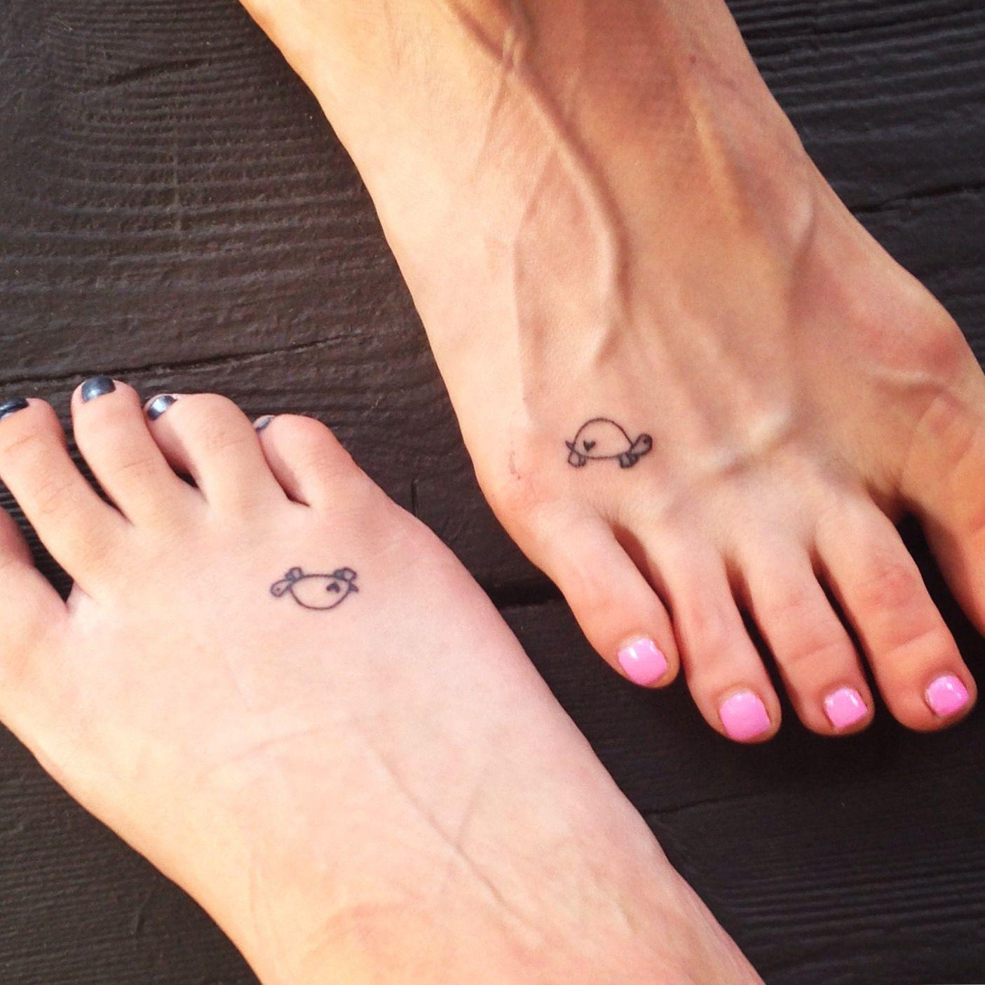 Small Turtle Tattoo Tatoeage Ideeën Piercing Tattoo En