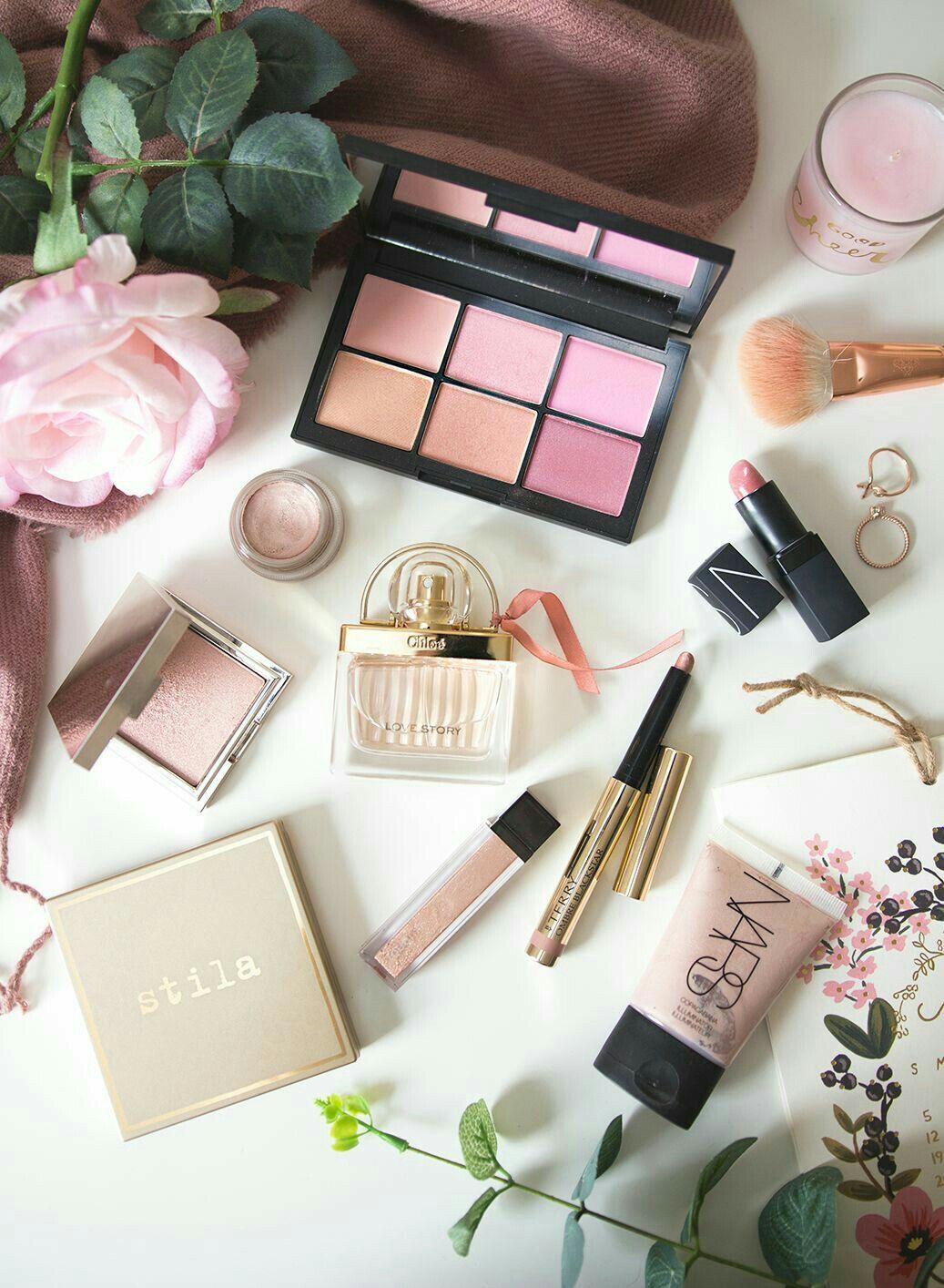 Pinterest Laineyemma Flatlay Makeup Spring Makeup Best