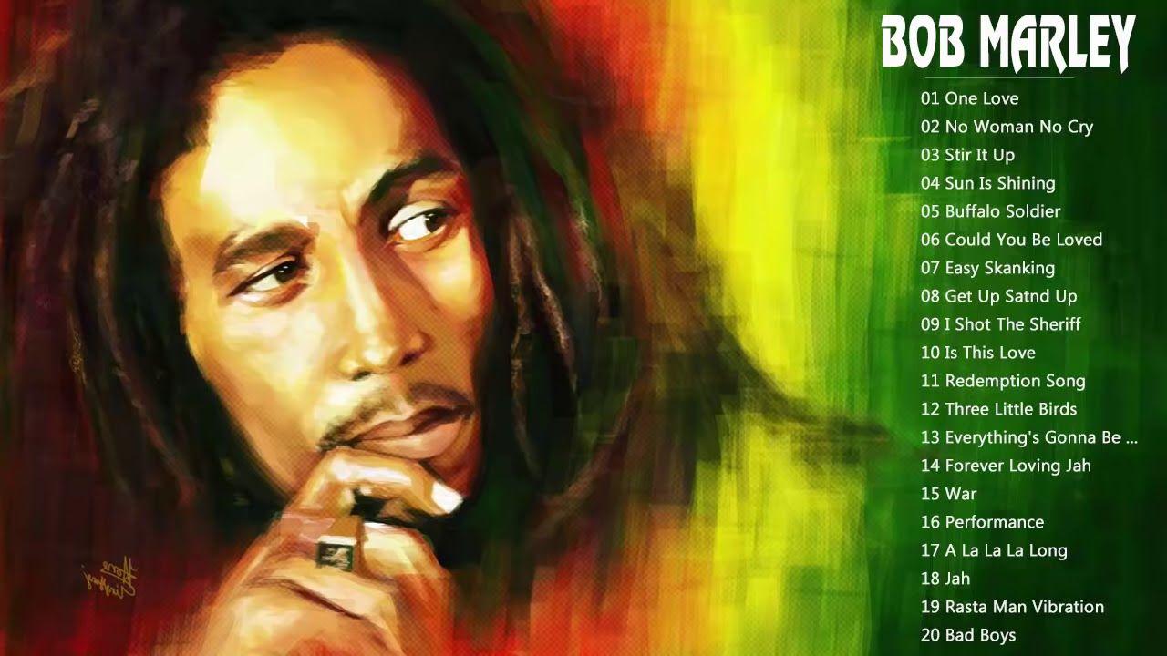 Bob Marley Top Songs The Best Of Bob Marley Bob Marley Reggae Songs Auteur Compositeur Interprete Damian Marley Ziggy Marley