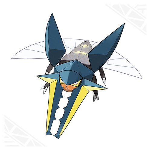 Vikavolt Is An ElectricBugType And The Evolved Form Of Charjabug